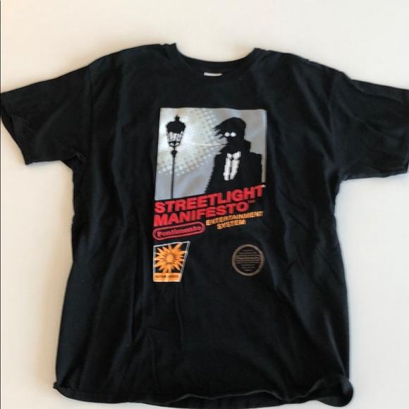 New STREETLIGHT MANIFESTO Logo black White Men/'s T-shirt S-2XL